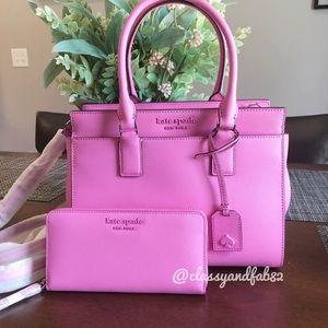 Kate Spade ♠️ satchel + wallet set